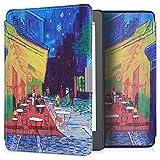 kwmobile Kobo Aura Edition 2 Cover - Custodia a Libro in Pelle PU - Flip Case per eReader - Copertina Protettiva per Kobo Aura Edition 2