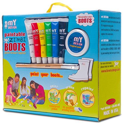 my-design-bambini-bambine-zimbi-verniciabile-pioggia-stivali-di-gomma-multicolore-multicoloured-34-3
