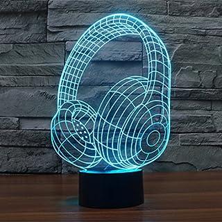 Alisable 3D Star Headset Awaken R2-D2 Robot Children Room Bedroom decorative Night multi 7 color change USB Touch button LED desk table light lamp