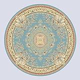 WXIN /Dicke Blaue Persische Teppiche in Dem Wohnzimmer/Schlafzimmer/Durchmesser 160 Cm/Y3887/Blau - Grün