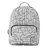 The Pack Society - Rucksack - Backpack Cool Prints - Geometric Marble Allover