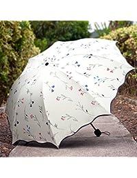 Sasan Filtro Solar UV sombrilla sombrilla paraguas plegable coreano femenino fresca pequeña de doble finalidad de