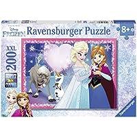 Ravensburger Italy 128266 - Puzzle Disney Frozen, 200 Pezzi, Multicolore
