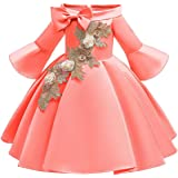 BestGift Children Wedding Party Kids Dresses for Girls Flower Girls Baby Girls Clothes Kids Christmas Party Dress 2-10 Years
