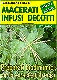Preparazione e uso di macerati, infusi, decotti. Preparati biodinamici per la cura degli ortaggi (Coltivare l'orto Vol. 18303)