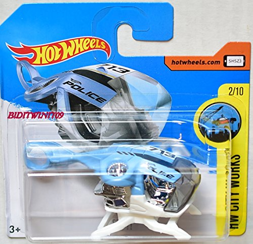 2017 Hot Wheels HW City Works Sky Fi Police 259/365 (Short Card)