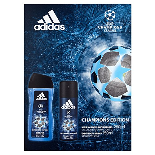 Adidas UEFA Body Spray and Shower Gel Duo
