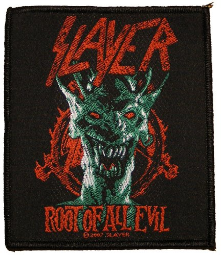 Slayer toppa Root of all Evil Patch in tessuto 8,5x 9,5cm
