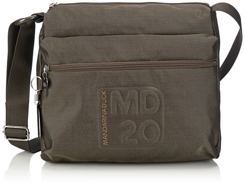 Mandarina Duck MD20 Cross Body Bag 14116TT4024, Marrone (Marrone), 36x30x15 cm (B x H x T)