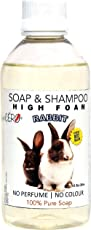 CERO 100% Pure High Foam Shampoo with No Perfume and Colour for Rabbit, 200ml