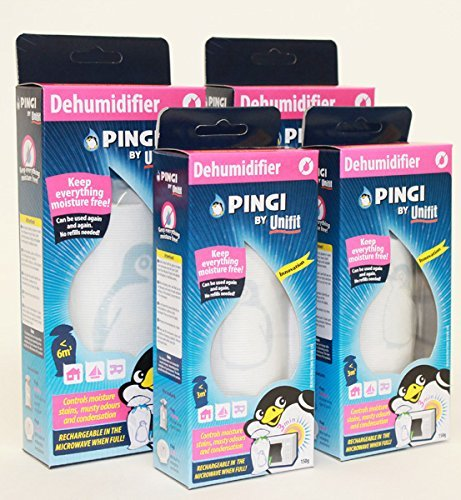 Preisvergleich Produktbild 2 X PINGI 250g 2 X pingi 150g Entfeuchter GRATIS AUFBEWAHRUNGSTASCHE Von SPAREGETTI