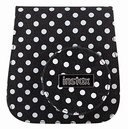 fujifilm-70100118338-instax-mini-8-tasche-mit-gepunktetem-leinengewebe-schwarz-weiss