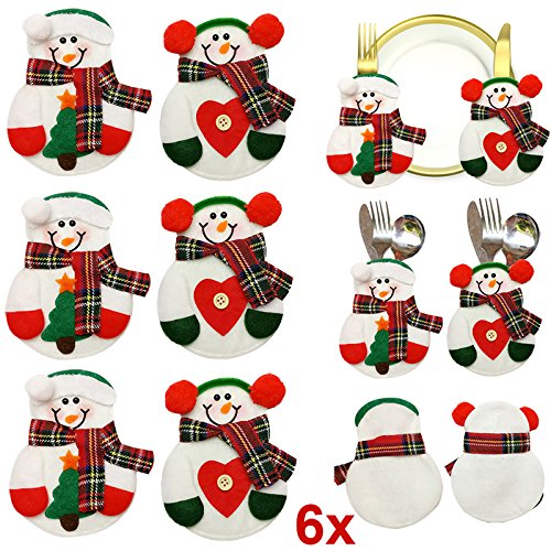Hrph-6pcs-Decoracin-de-Navidad-Home-Cubiertos-Titular-del-mueco-de-nieve-Bolsillos-Vajillas-Cubierta-de-mesa-Decoracin-de-Navidad-Decoracin