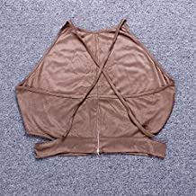 Ularma Caliente Boho tanque mujeres Tops sujetador Bustier chaleco cultivo camisa blusa Bralette Cami Casual