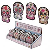 Lauren Billingham Day Of The Dead Skull Emery Board Nail File (Yellow) by Pukator