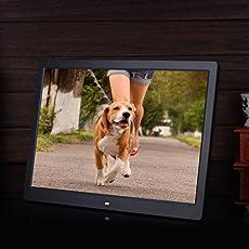 "Epyz HD Ready Digital Photo Frame With Fully Functional Remote (12""inch, Black)"