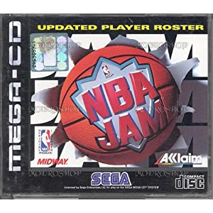 NBA Jam – MegaCD – PAL