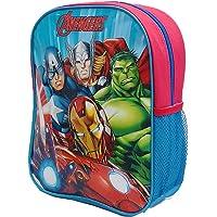 Official Licensed Kids Boys & Girls School Backpack with Side Mesh Pocket (Avengers)
