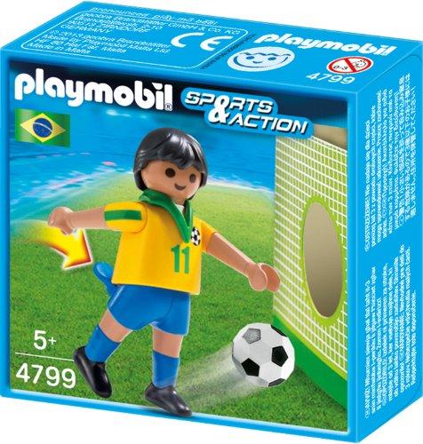 Playmobil 4799 - Fußballspieler Brasilien