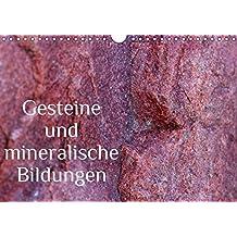 Gesteine und mineralische Bildungen (Wandkalender 2017 DIN A4 quer): Die zauberhafte Welt der Steine und Mineralien (Monatskalender, 14 Seiten ) (CALVENDO Natur)