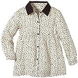 Little Pieces Mädchen Bluse Elenora Shirt, Gepunktet, Gr. 128 (Herstellergröße: 7/8), Elfenbein (Creme)
