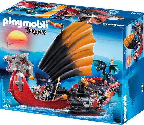 Preisvergleich Produktbild PLAYMOBIL 5481 - Drachen-Kampfschiff