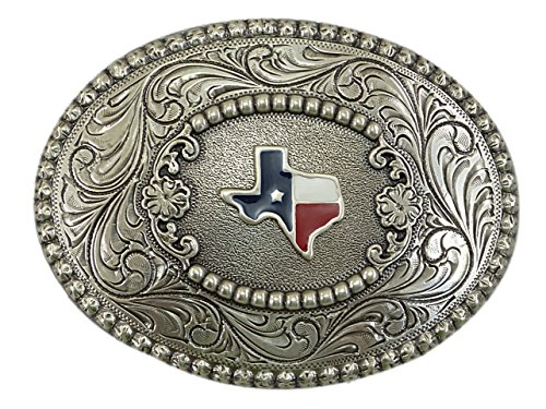 Nocona Texas Pearl Gürtelschnalle Western Buckle Cowboy USA (Nocona Cowboy Gürtel)