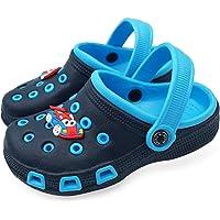 Vorgelen Sabots et Mules Enfants Été Sandales de Plage à Enfiler Chaussures Mixte Enfant Bébé Fille Garçon Antidérapant…