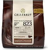 Callebaut N° 823 - Finest 33.6% Belgian Milk Chocolate Couverture (Callets) 400g