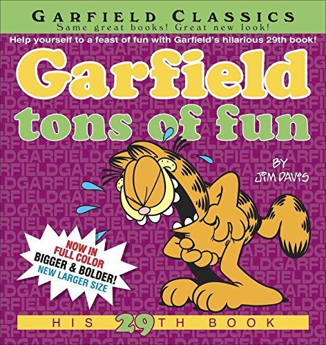 Garfield Tons of Fun by Davis, Jim (2015) Paperback