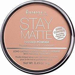 RIMMEL Stay Matte Pressed Powder 018 Creamy Beige - 0.49 oz. (14 g)