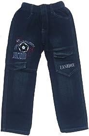 Unbekannt Bequeme Jungen Jeans mit rundum Gummizug, J140e