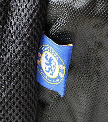 Officially Licensed Chelsea Football Club Large Square Deluxe Padded School Rucksack Backpack Bag