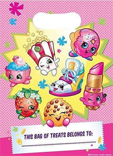 Gemma International Shopkins Plastique Pochette Surprise Pour Fête x 8