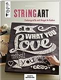 String Art (KREATIV.INSPIRATION.): Fadengrafik mit Nagel & Faden