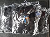 Capuchontrui/hoodie voor motorrijders, 100% Kevlar, beschermers, kleur zwart, maat 4XL - 5