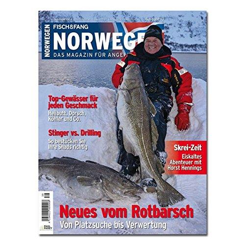 FISCH & FANG Sonderheft Nr. 40: Norwegen Magazin Nr. 10: Das Magazin für Angeln und Meer (Norwegen Magazin / Das Magazin für Angeln und Meer)