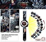 #5: V-Cart All New Batman V/s Superman Super heroes 24 Images Projector Watch for Kids