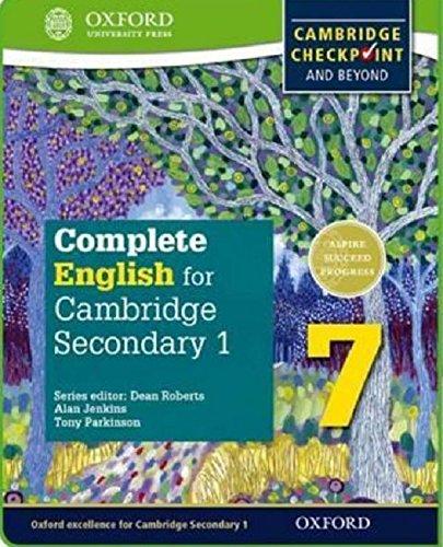 Complete English for Cambridge IGCSE secondary 1. Student's book. Per la Scuola media. Con espansione online: English for Cambridge Checkpoint ... (Complete English for Cambridge Secondary) por Tony Parkinson
