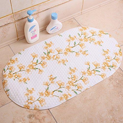 ZYZX Grüne unscented Badezimmer Badezimmer Badezimmer Teppiche Matten und Kunststoff wasserdicht Pad 71 * 38cm Jin Zhongmei - Unscented Foam