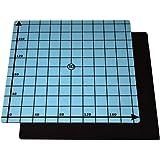SOOWAY Flex magnetiskt tvåskikts tryck varm säng klistermärke bygga yta tejp för 3D-skrivare byggplattform uppvärmd säng klis