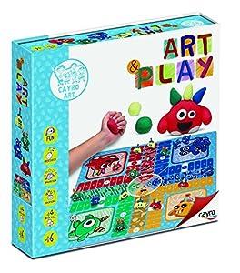 Cayro Mudpuppy 813 - DIY Art & Play Parchis Monstruos (+6 Años) , 33 x 1.5 x 25 cm