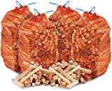 12kg of THE CHEMICAL HUT® Quality Wooden Kindling, ideal for Fire Starting Open Fires, Stoves, BBQ & Ovens