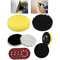Digital Craft 5Inch Polishing Buffing Waxing Pad Kit for Car Polisher and Furniture Buffer Wheel Kit Power Tool Accessories
