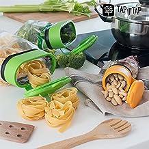 appetitissime IT Tapas per sacchetti, verde/giallo, 13x 5.5x 10.5cm