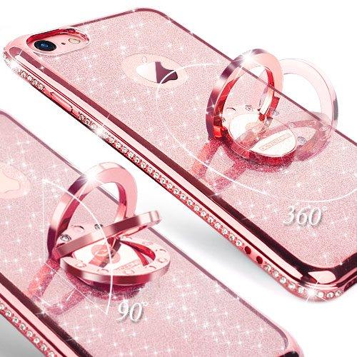 custodia iphone 6s rosa silicone