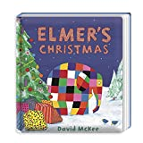 Best Christmas Books For Toddlers - Elmer's Christmas: Board Book Review