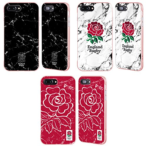 Official England Rugby Union 2017/18 Marble Rose Fender Case for Apple iPhone Phones