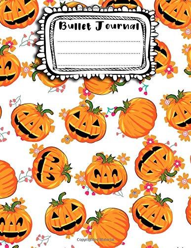 Bullet Journal: A4 - 156 paginas - Halloween - Monstruos divertidos - Fantasmas - Calabazas (156 paginas en blanco numeradas, punteadas y dot grid / bullet journal)