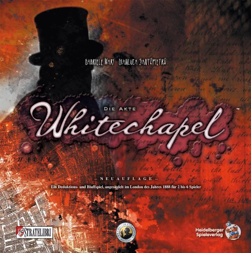"Heidelberger HE537 - ""Die Akte Whitechapel"", Gioco da tavolo [lingua tedesca]"